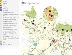 Destinos turísticos accesibles. La Hoya de Huesca
