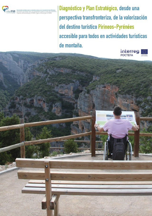 Plan Estratégico de Turismo Accesible de Destino turístico Pirineos. Desarrollado por Equalitas Accesibilidad.