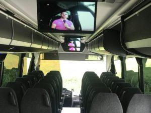 Vídeo cámara lectura labial en autocares