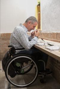 Musealización accesible para personas en silla de ruedas